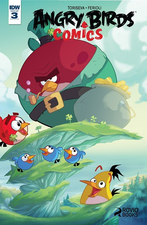 Angry Birds Comics #3