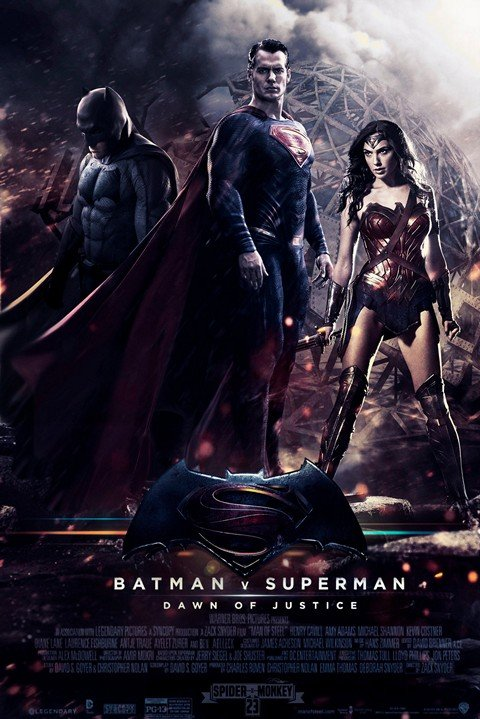 Batman v Superman Movie (Comics Collection)
