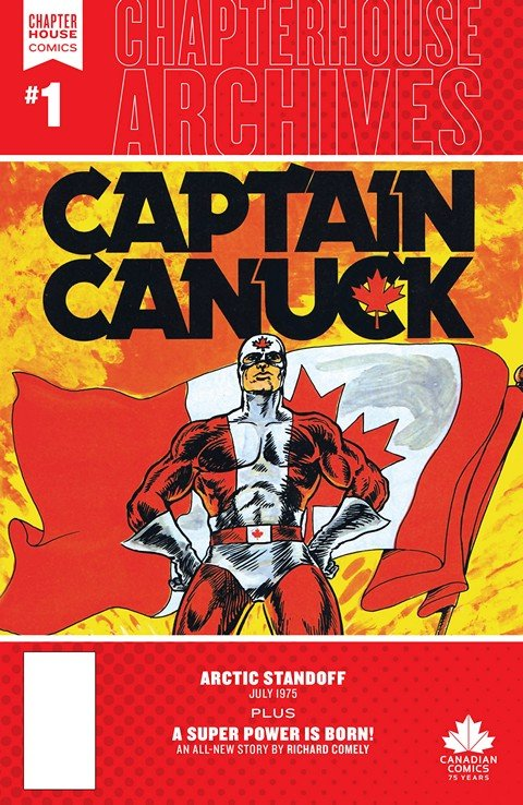Chapterhouse Archives – Captain Canuck #1