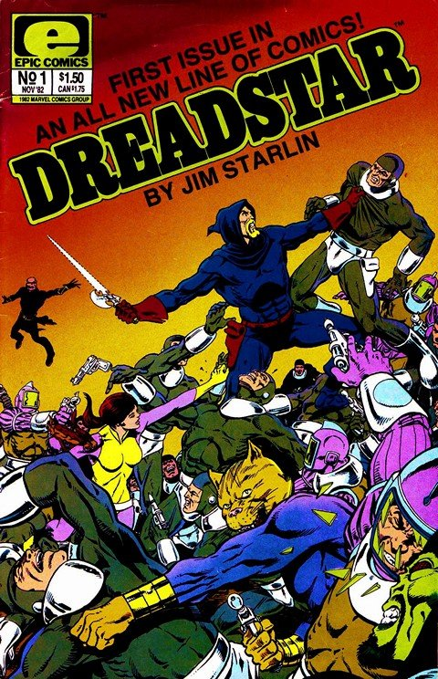 Dreadstar Vol. 1 #1 – 26