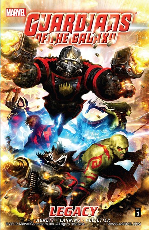 Guardians of the Galaxy – Legacy (TPB) (2009)