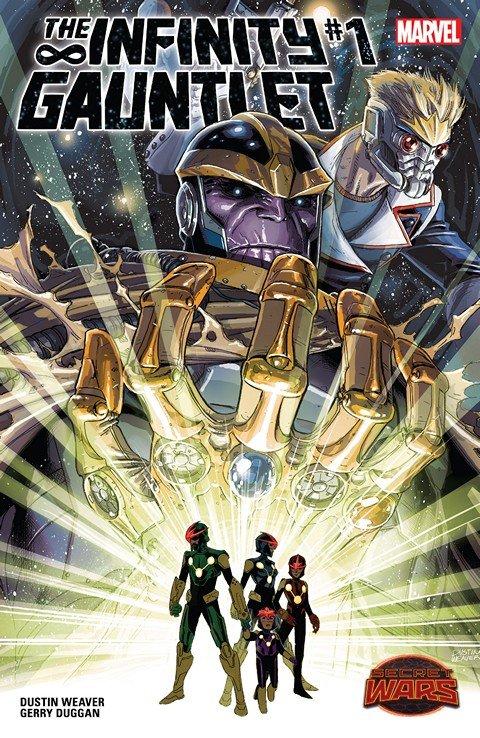 Infinity Gauntlet #1 – 5