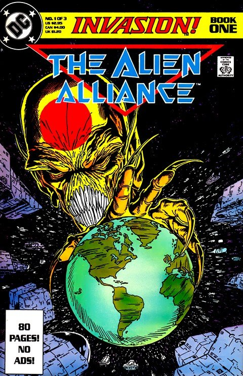 Invasion! #1 – 3 + Daily Planet Special