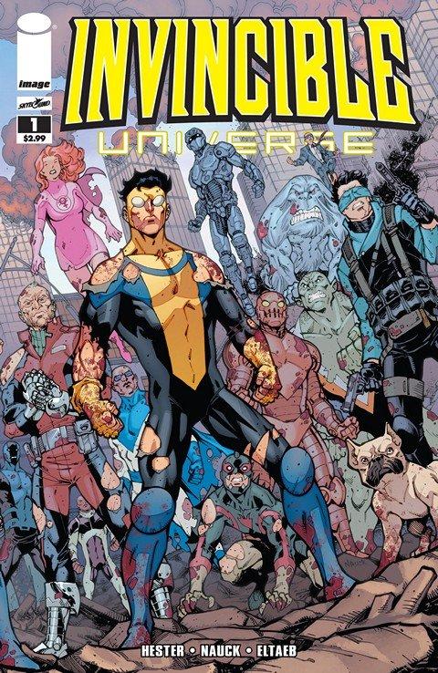 Invincible Universe #1 – 12
