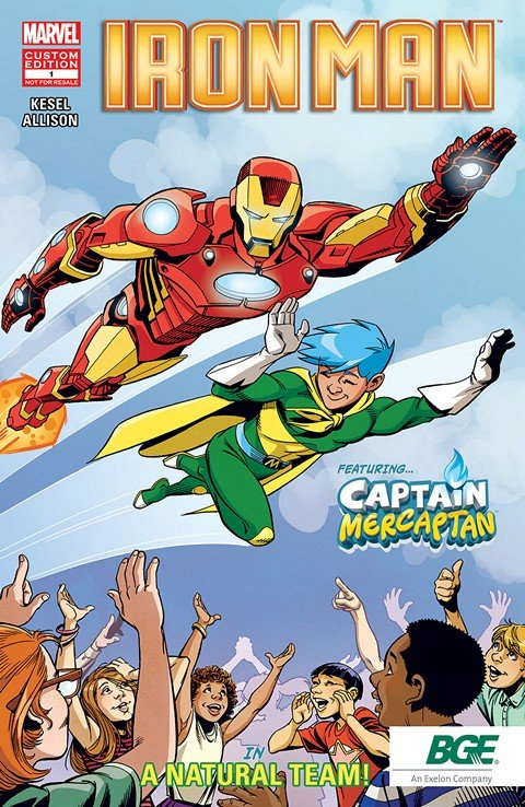 Iron Man Featuring Captain Mercaptan #1