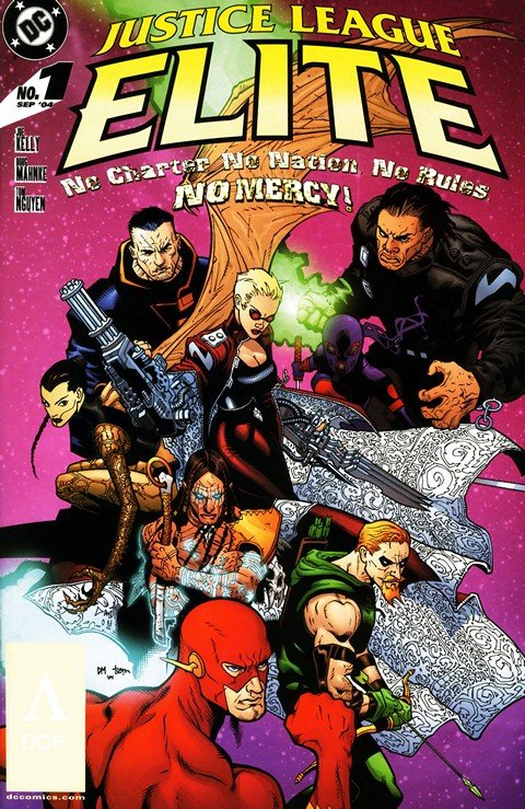 Justice League Elite #1 – 12