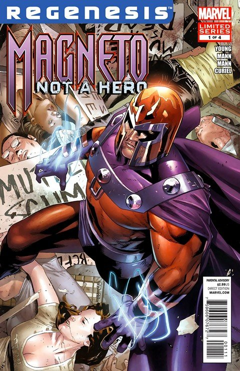 Magneto – Not a Hero #1 – 4 (2012)