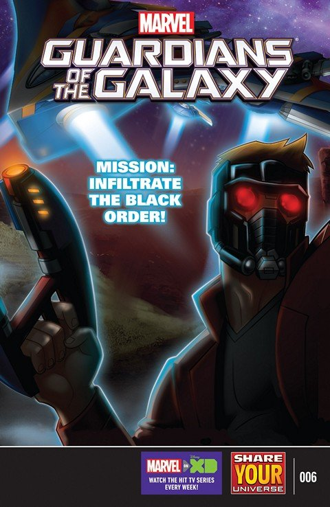 Marvel Universe Guardians of the Galaxy #6