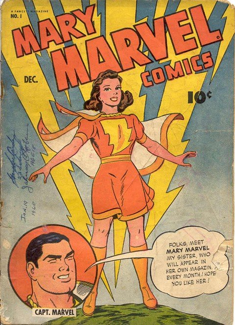 Mary Marvel #1 – 28 (Uncomplete)
