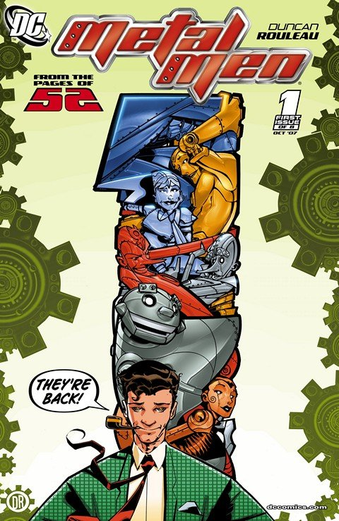 Metal Men #1 – 8 + DC Comics Presents