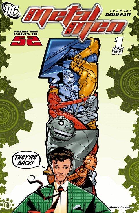Metal Men #1 – 8 + DC Comics Presents (2007-2011)