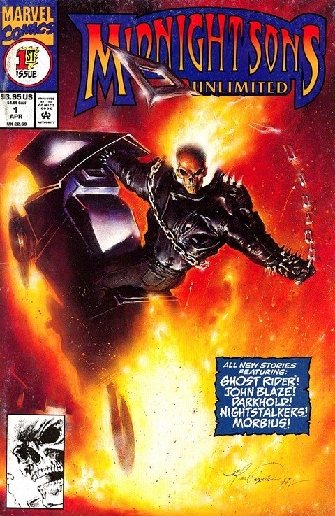 Midnight Sons (Marvel Imprint) (Collection) (1992-1995)