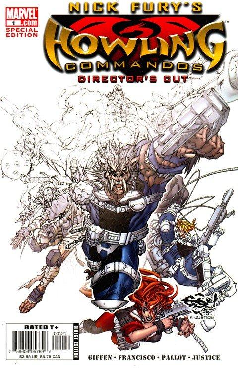 Nick Fury's Howling Commandos #1 – 6
