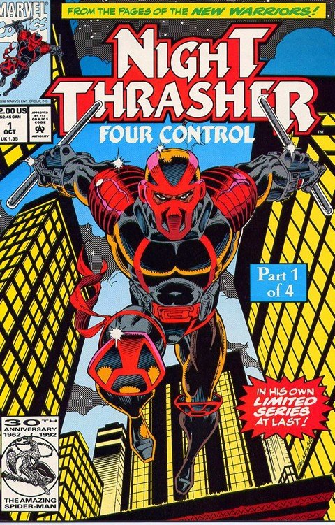 Night Thrasher – Four Control #1 – 4