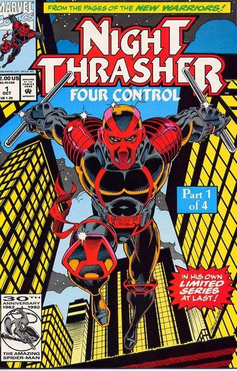 Night Thrasher – Four Control #1 – 4