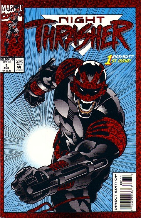 Night Thrasher Vol. 1 #1 – 21