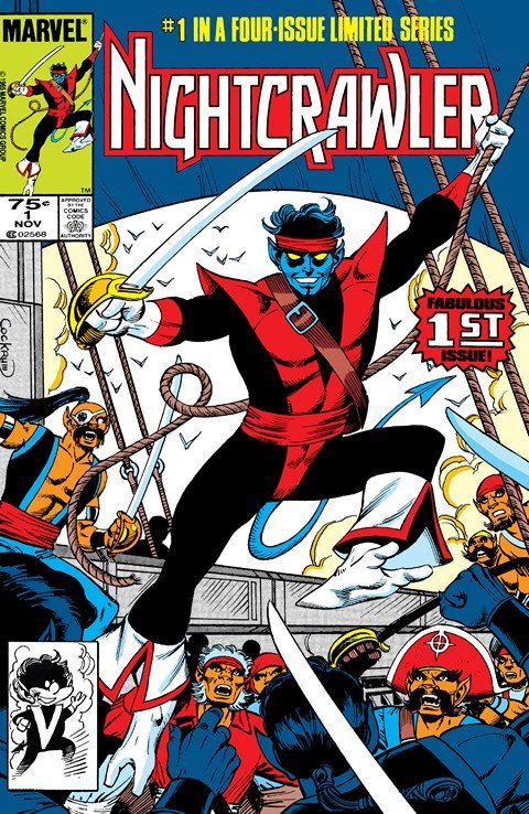 Nightcrawler Vol. 1 #1 – 4