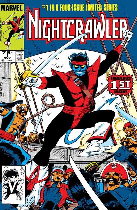 Nightcrawler Vol. 1 #1 – 4 (1985-1986)