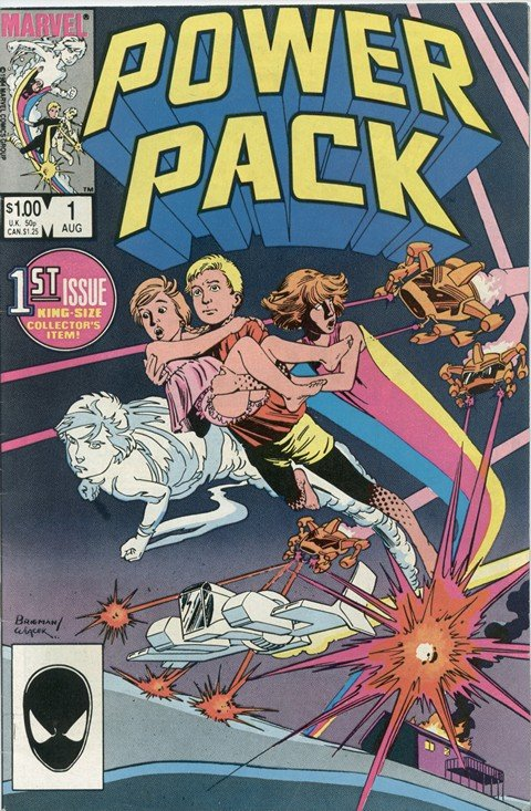 Power Pack Vol. 1 – 3 + Extras (Collection) (1984-2008)