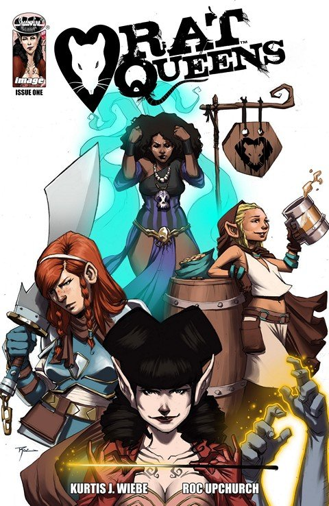 Rat Queens #1 – 16 + TPB Vol. 1 – 3 (2013-2016)