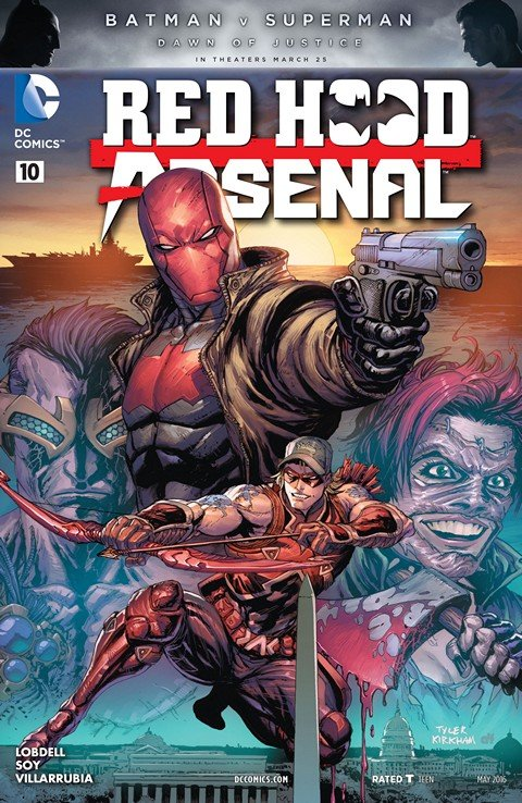 Red Hood-Arsenal #10