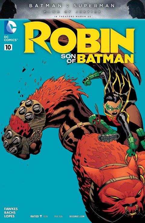 Robin – Son of Batman #10