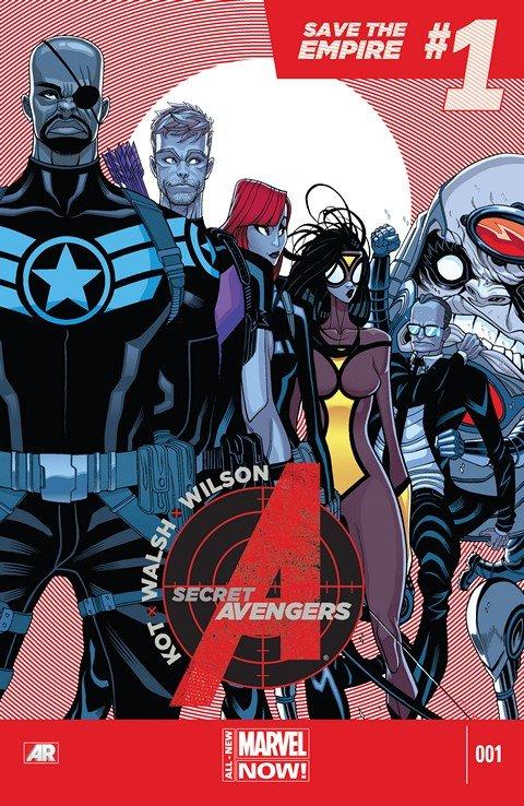 Secret Avengers Vol. 3 #1 – 15