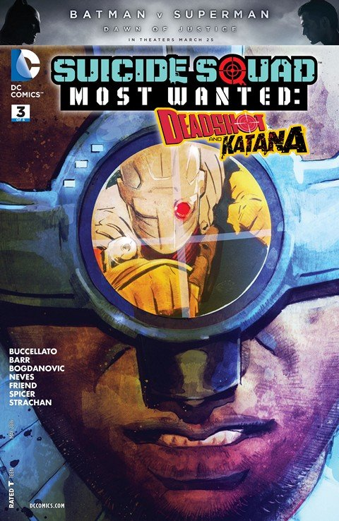 Suicide Squad Most Wanted – Deadshot and Katana #3
