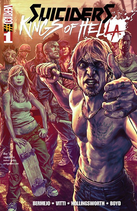 Suiciders – Kings of HelL.A. #1