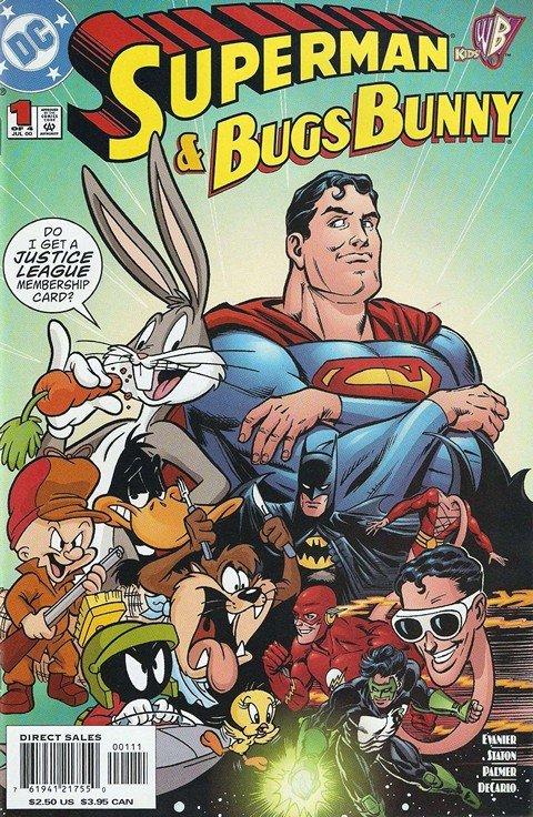 Superman & Bugs Bunny #1 – 4