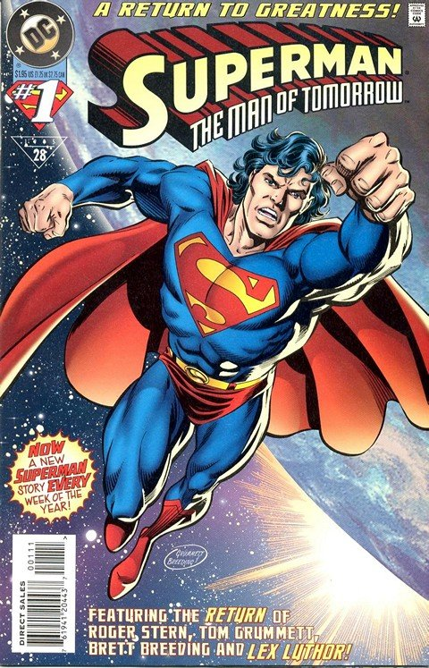 Superman – The Man Of Tomorrow #1 – 15 + 1,000,000