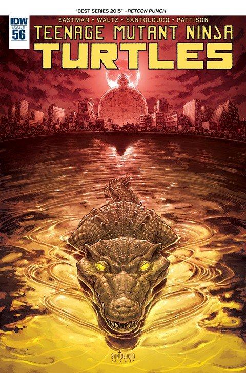 Teenage Mutant Ninja Turtles #56
