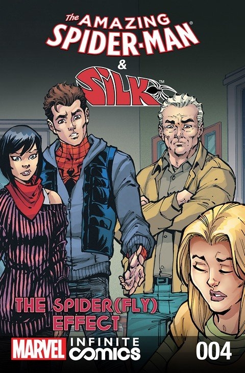 The Amazing Spider-Man & Silk – Spider(Fly) Effect Infinite Comic #4