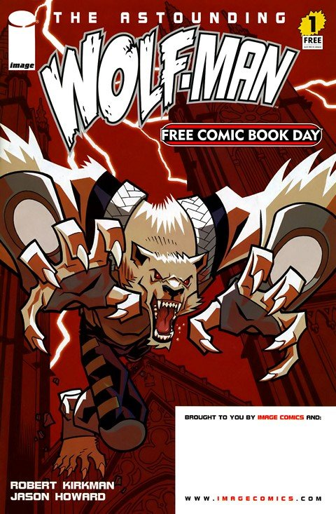 The Astounding Wolf-Man #1 – 25 (2007-2010)