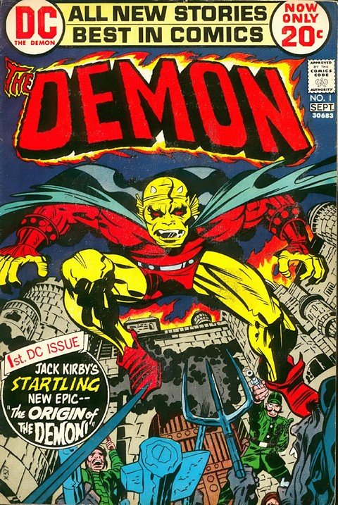 The Demon Vol. 1 (#1 – 16) + Vol. 2 (#1 – 4)