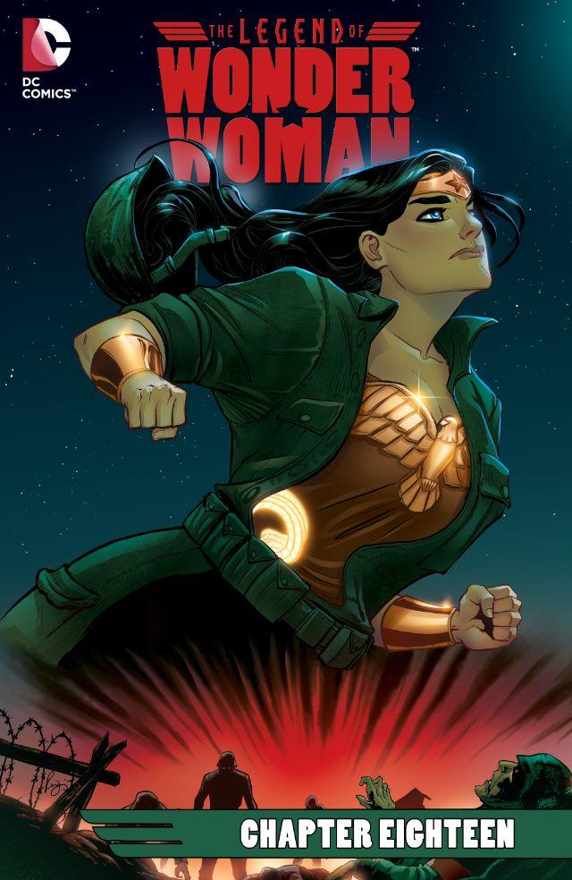 The Legend of Wonder Woman #18