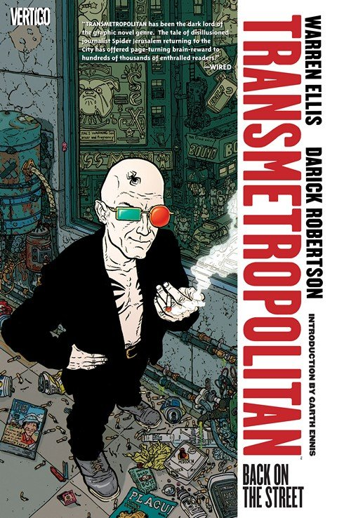 Transmetropolitan Vol. 1 – 10 (2009-2011)