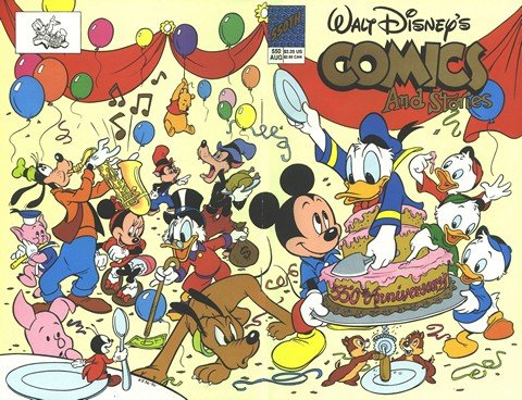 Walt Disney's Comics And Stories #550