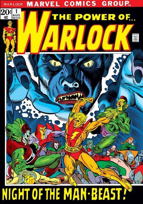 Warlock Vol. 1 #1 – 15 (1972-1974)