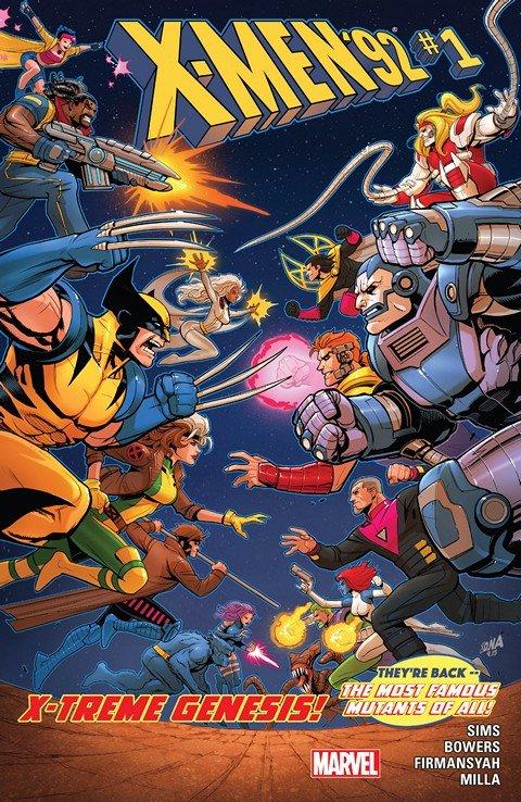 X-Men '92 #1 – 10 + TPBs (2016-2017)
