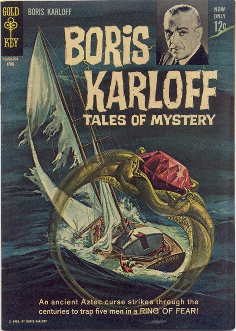 Boris Karloff Tales of Mystery #1 – 97 (Gold Key)