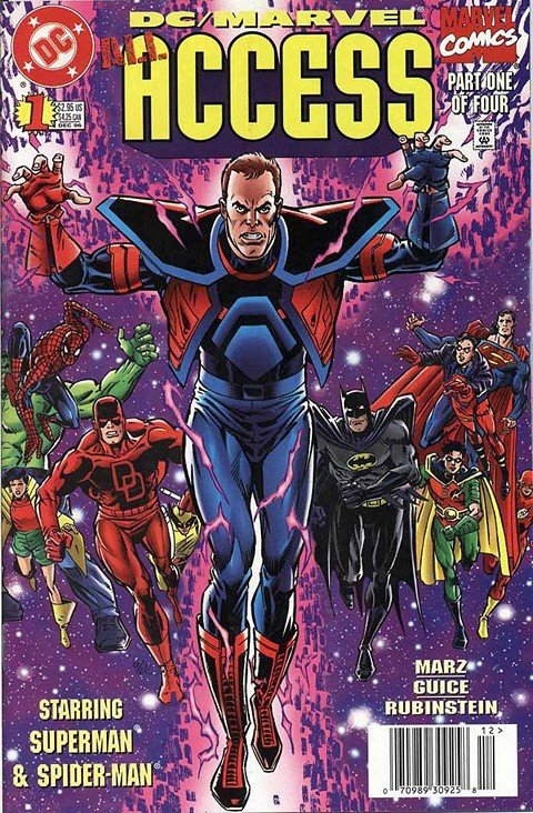 DC-Marvel – All Access #1 – 4 (1996-1997)
