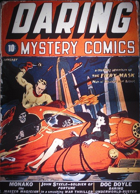 Daring Mystery Comics #1 – 8 + Extras (1940-1941+2009)