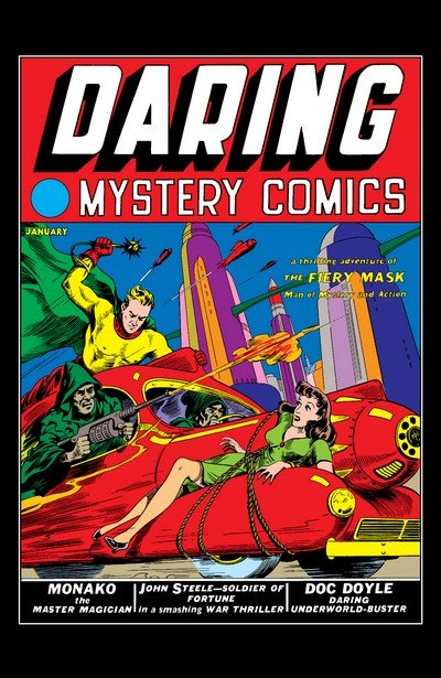 Daring Mystery Comics #1 – 8 + Special (1940-1941+2009)