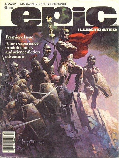 Epic Illustrated #1 – 34
