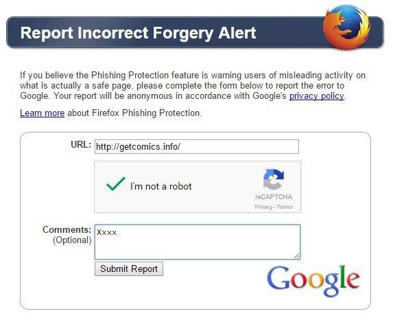 Error Report