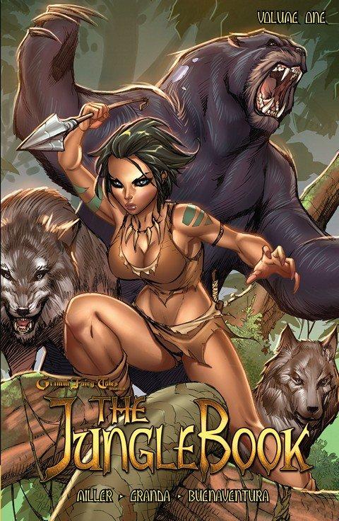 Grimm Fairy Tales Presents The Jungle Book Vol. 1 – 3 (TPB)