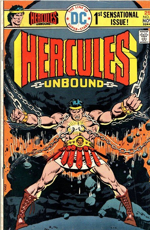 Hercules Unbound (DC) #1 – 12