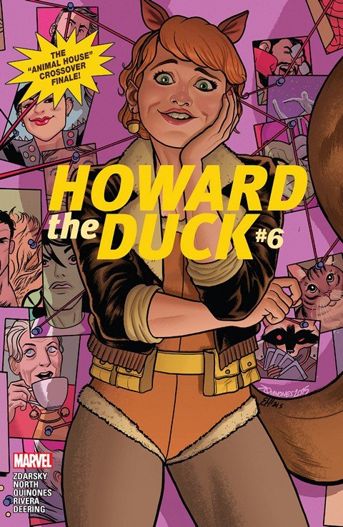 Howard The Duck #6 (2016)