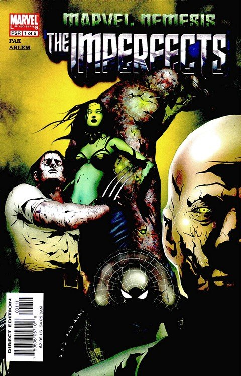 Marvel Nemesis – The Imperfects #1 – 6